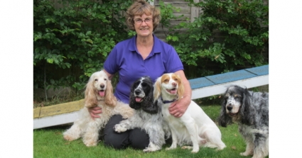 Aljeana Baddley Reveals Dog Agility Helped Her To Cope With Her Mother's Dementia